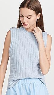 GANNI Wool Mix Vest