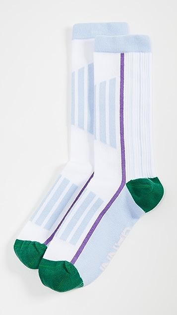GANNI 棉混纺袜子
