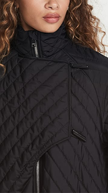 GANNI Recycled Ripstop Coat