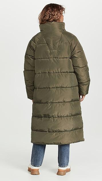 GANNI Tech Puffer Coat