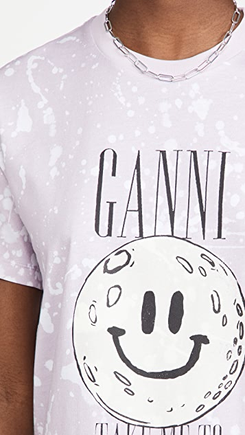 GANNI Moon T 恤
