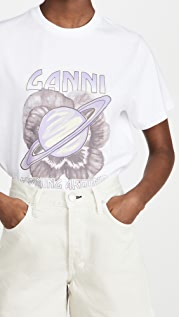 GANNI Saturn Tee