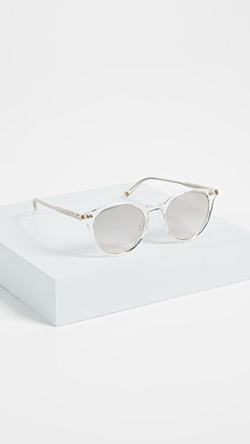 GARRETT LEIGHT Clune 47 Sunglasses