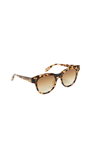 GARRETT LEIGHT x Ulla Johnson 51 Paloma Sunglasses