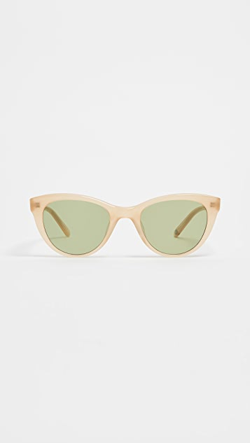 GARRETT LEIGHT x Clare V. 47 Sunglasses