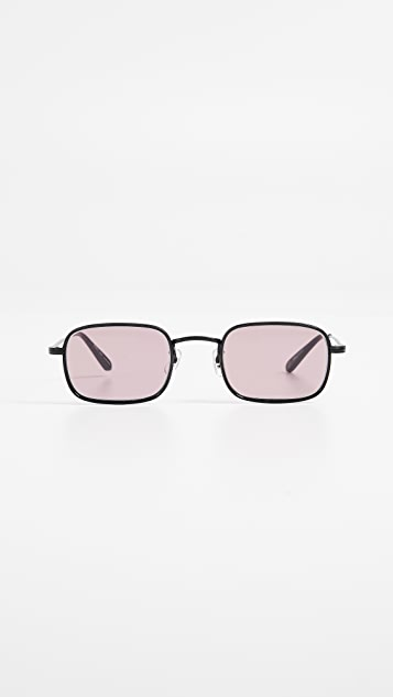 Garrett Leight Steiner 47 Ratrocks Sunglasses