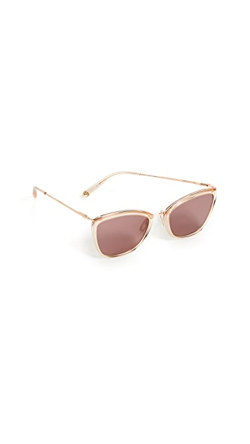 GARRETT LEIGHT Louella 51 Sunglasses