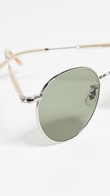 GARRETT LEIGHT Солнцезащитные очки Wilson 49