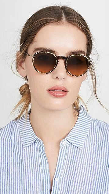 GARRETT LEIGHT Солнцезащитные очки Horizon с шириной линз 48мм