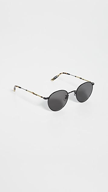 GARRETT LEIGHT Wilson M Sunglasses