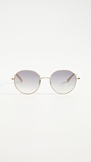 GARRETT LEIGHT Valencia Sunglasses