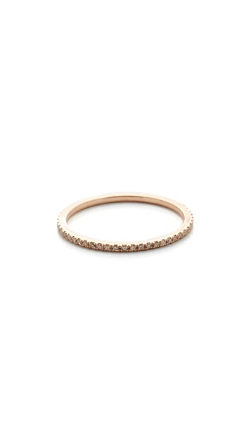 Gabriela Artigas 14k Rose Gold Axis Ring