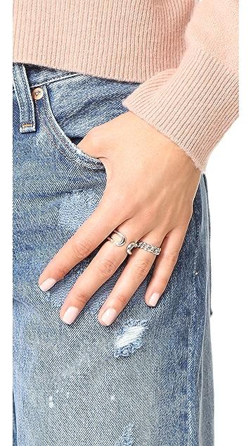 Gabriela Artigas 14k Gold Chain Ring