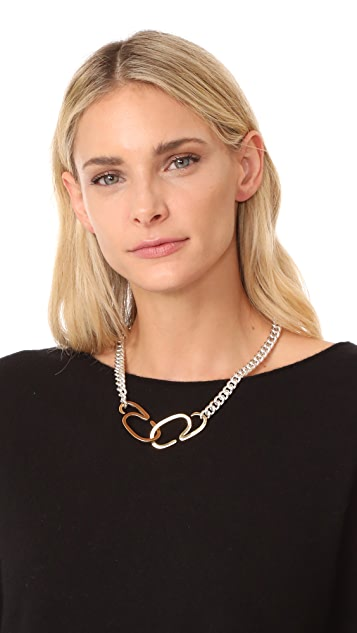 Gabriela Artigas G Clasp Choker Necklace