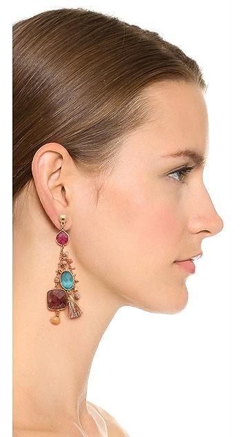 GAS Bijoux Serti Pondichery Earrings