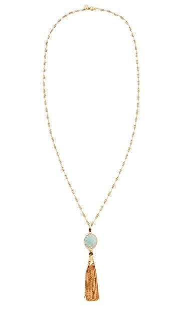 GAS Bijoux Serti Tassel Necklace