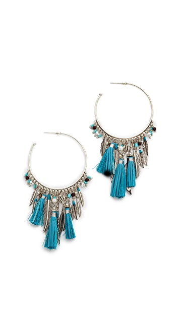 GAS Bijoux Plume Earrings