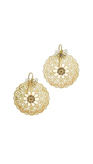GAS Bijoux Flocon Earrings