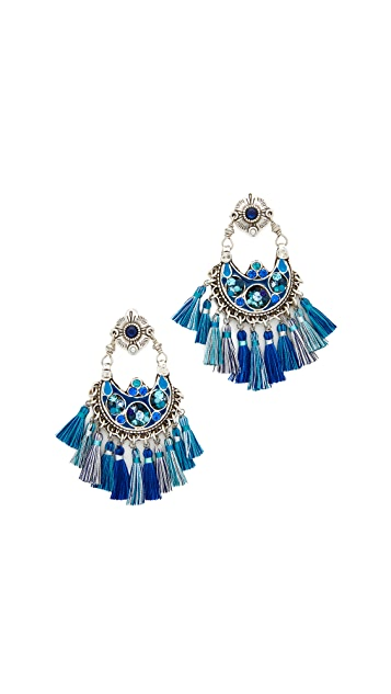 GAS Bijoux Eventail Earrings