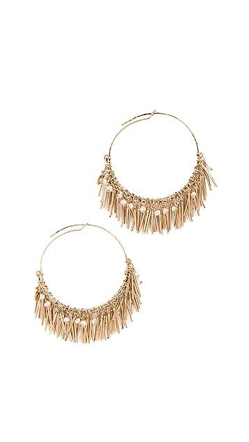 GAS Bijoux Bo Creole Etincelle Earrings