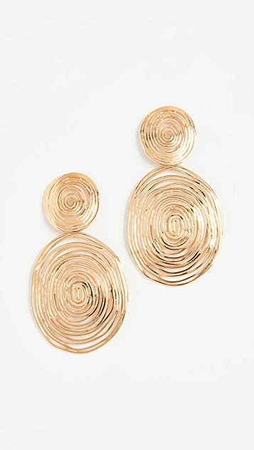 GAS Bijoux Wave Large Earrings