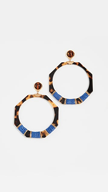 GAS Bijoux Octagon Earrings