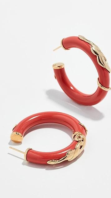 GAS Bijoux Серьги-кольца Bo Creole Cobra