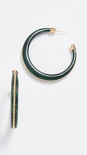 GAS Bijoux Серьги-кольца Caftan