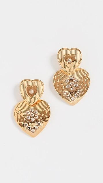 GAS Bijoux Mini Love Earrings