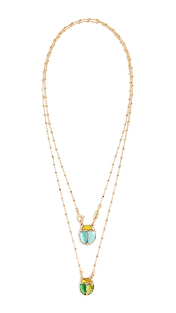 GAS Bijoux Scapulaire Scarabeo 项链