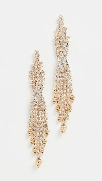 GAS Bijoux Bo Sofia Strass Earrings