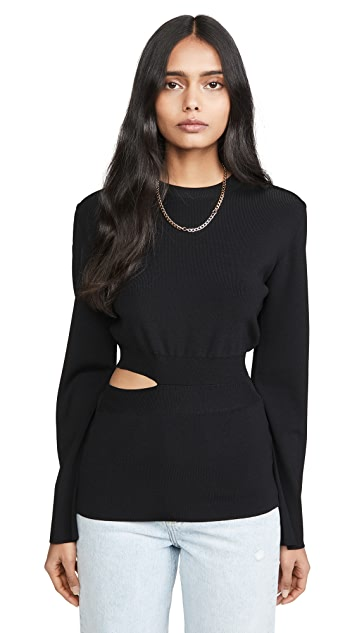 GAUGE81 Davos Waist Cut Out Top
