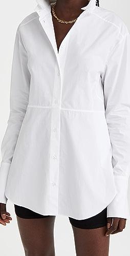 GAUGE81 - Cotton Tuxedo Shirt
