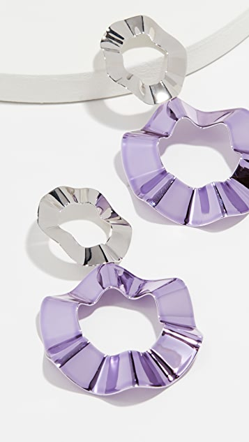 Gaviria Double Ravioli Earrings