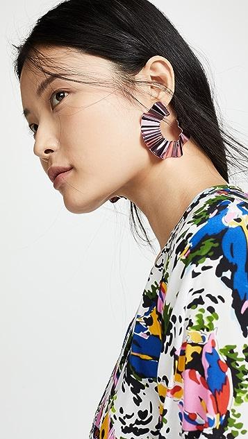 Gaviria Large Ravioli Earrings