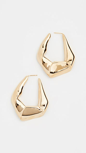 Gaviria Large Trash Earrings