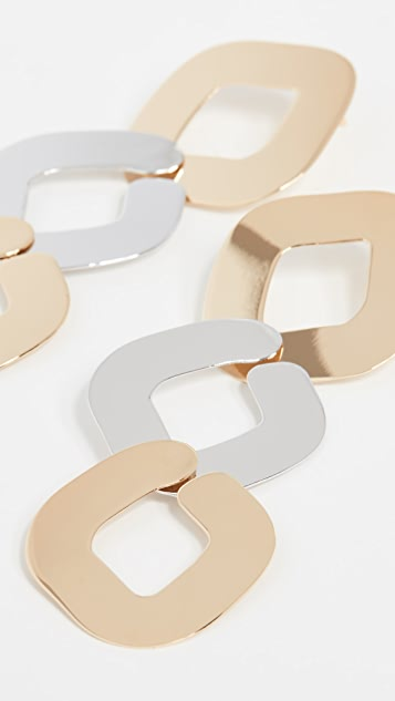 Gaviria 3 Chain Earrings
