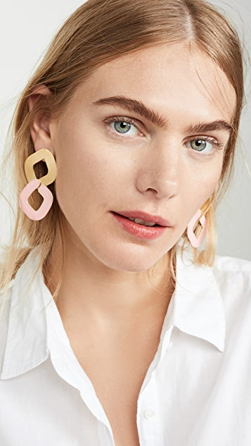 Gaviria 2 Chain Earrings