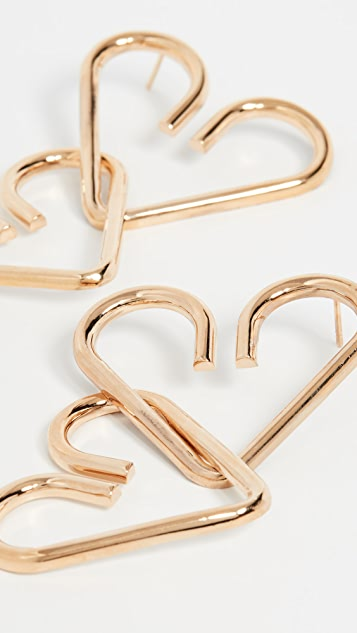 Gaviria Heart Earrings