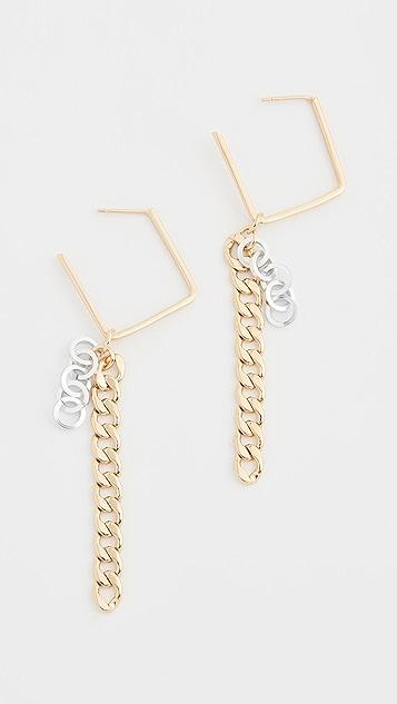 Gaviria Disco Earrings