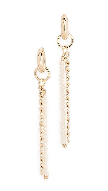 Gaviria Island Disco Gold Earrings