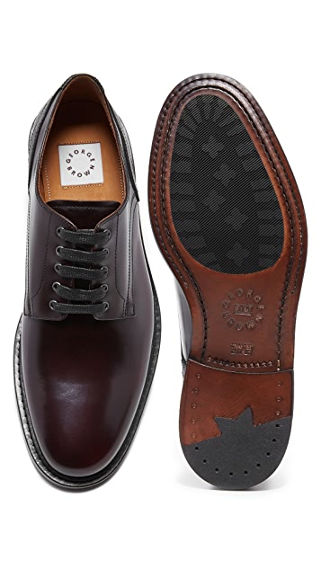 George Brown BILT Fulton Plain Toe Oxfords