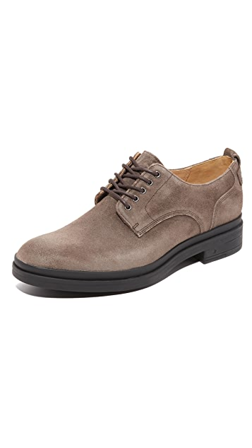 George Brown BILT Brad Waterproof Suede Derby Shoes