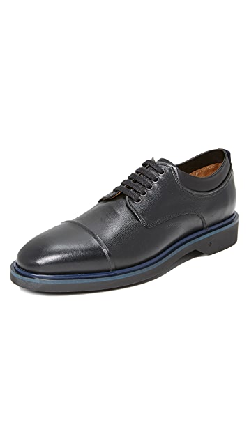 George Brown BILT Jannsen Cap Toe Derbys