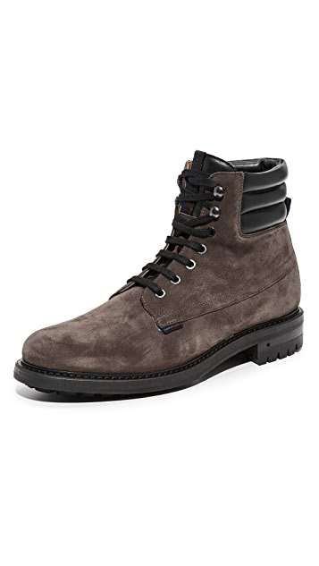 George Brown BILT Wright Suede Lace Boots