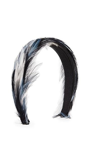 Gigi Burris Plumage Feather Headband