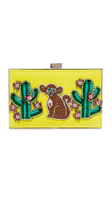 Gedebe Monkey and Cactus Clutch