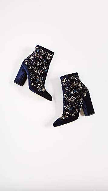 Gedebe Astera Sequin Booties