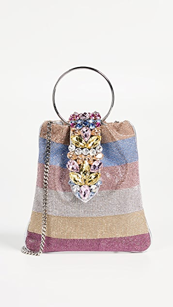 Gedebe Crystal Pouch Bag - Multicolor