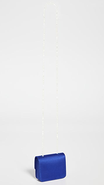 Gelareh Mizrahi Satin Micro Mini Pearl
